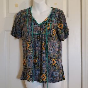 Forever 21 short sleeve top.  Size M